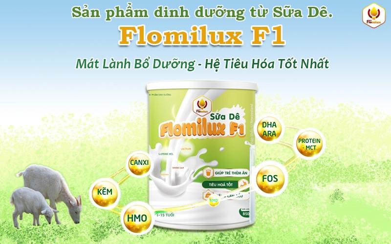 Giá Trị Nguồn Dinh Dưỡng Có Trong Sữa Dê Flomilux F1