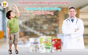 Sữa Dành Cho Bé Suy Dinh Dưỡng Thấp Còi Từ 1 - 15 Tuổi
