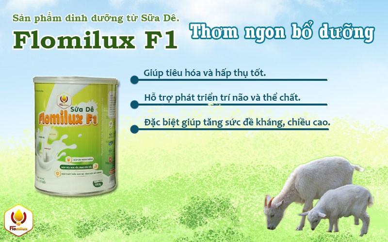 Flomilux F1 Sữa Phát Triển Tăng Cân Cho Trẻ