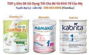 TOP 3 Sữa Dê Sử Dụng Tốt Cho Bé Và Kinh Tế Của Mẹ