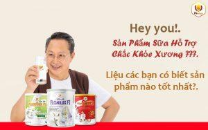 TOP 5 Sữa Dùng Cho Người Bị Loãng Xương