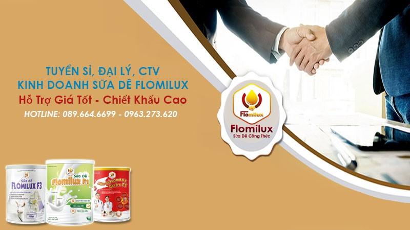 Tuyển Đại Lý CTV Sữa Dê Flomilux