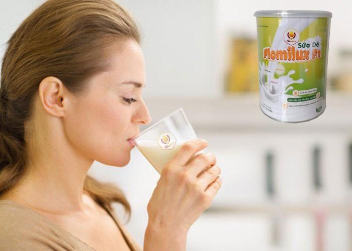 Uống Sữa Dê Flomilux Làm Tăng Cường Sự Trao Đổi Chất