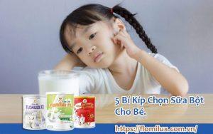 5 Bí Kíp Chọn Sữa Bột Cho Bé
