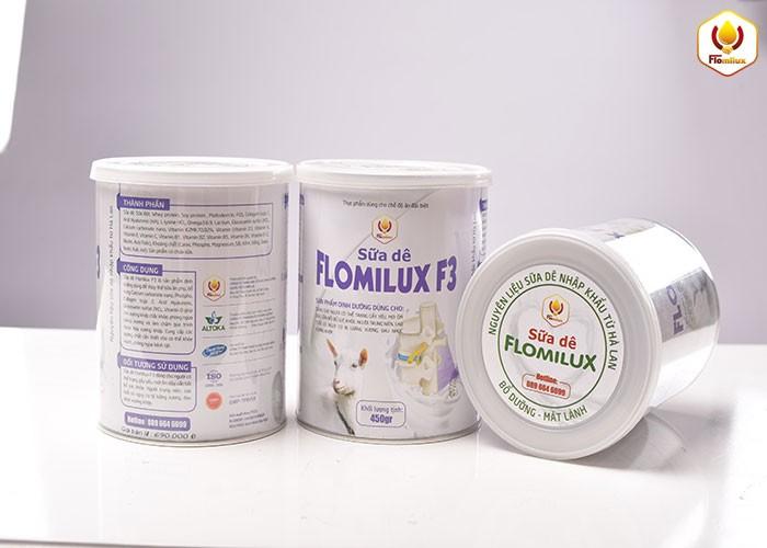 Sữa Dê Flomilux F3 Công Thức Tốt Cho Người Bị Bệnh Xương Khớp