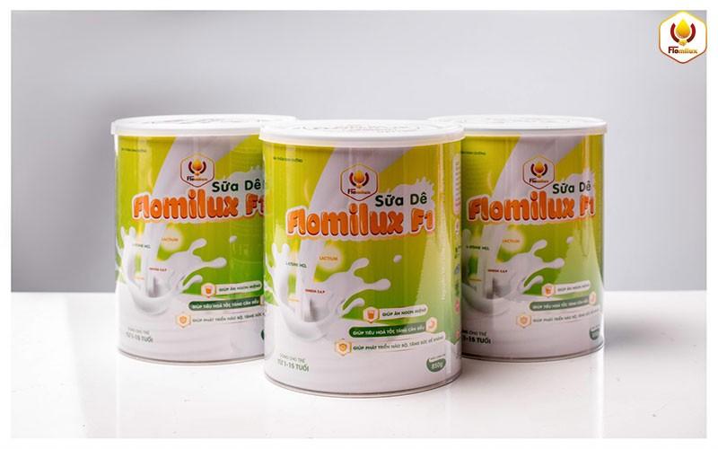 Sữa Dê Flomilux F1 Sản Phẩm Tốt Nhất Giúp Trẻ Phòng Bệnh Mùa Đông Tăng Sức Đề Kháng